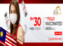 Enjoy the Best RM30 Free Credit for Vaccinated Players